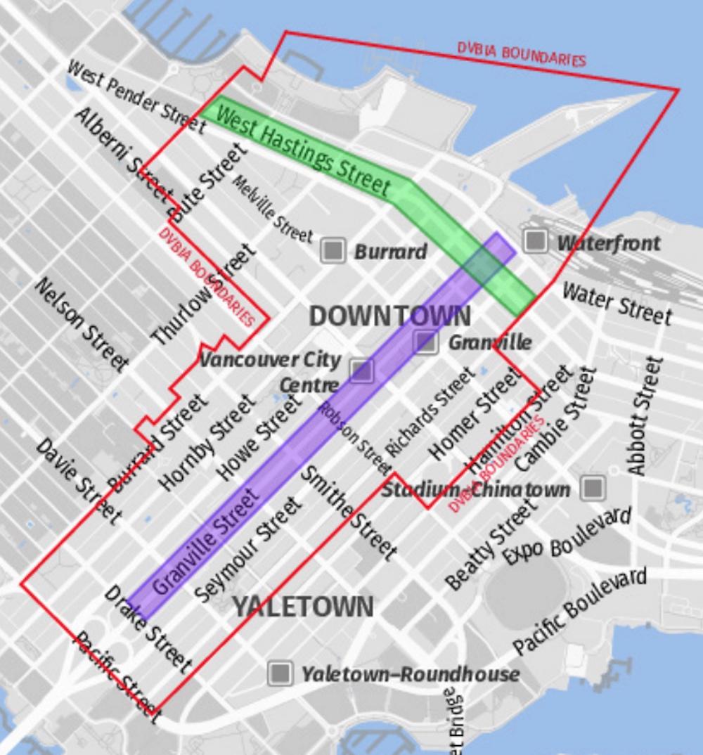 dvbia street banner map