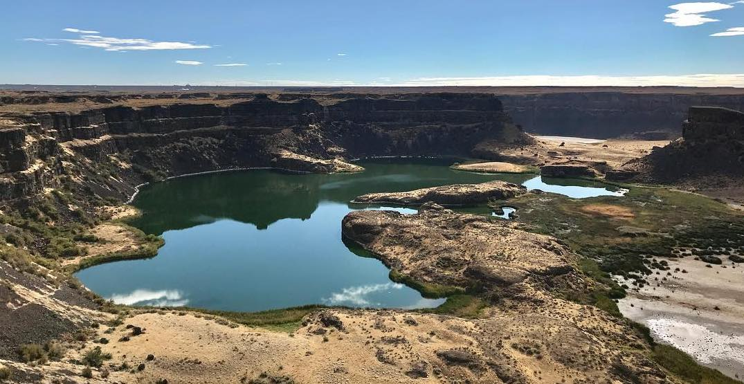Wonderful Washington: Admire the amazing oasis that is Dry Falls