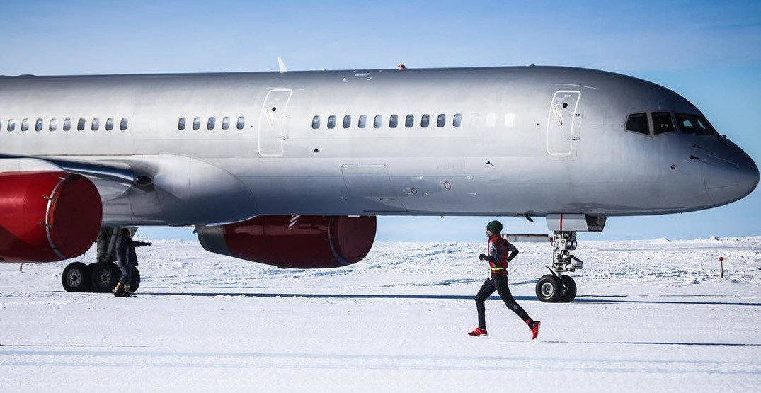 Runners prepare to compete in 7 marathons on 7 continents in 7 days