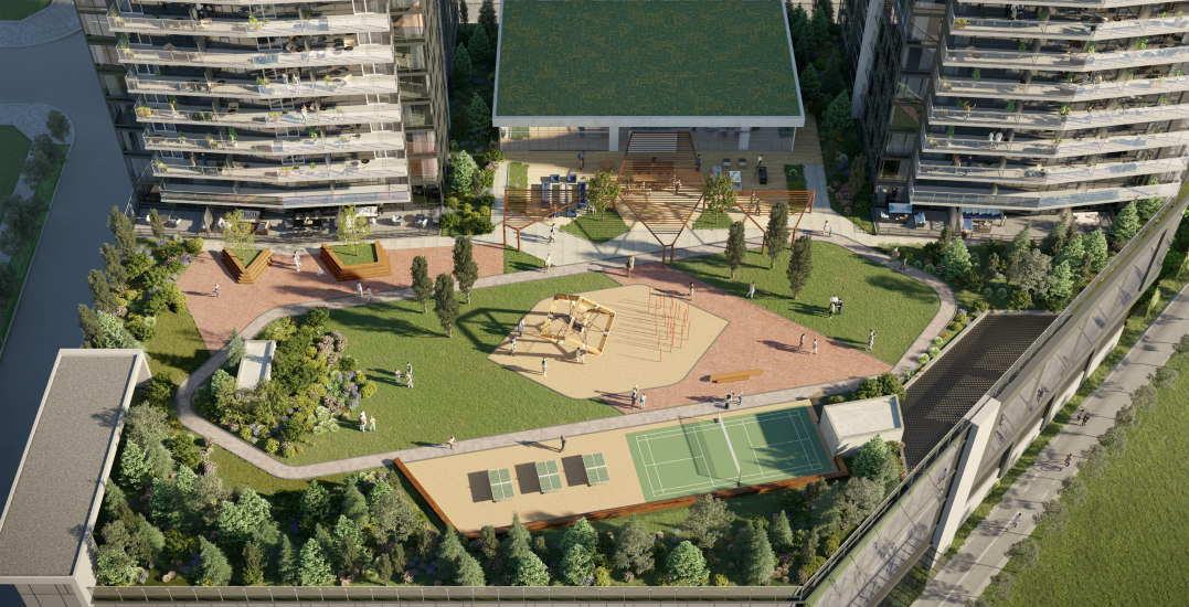 New development near Lougheed SkyTrain comes with private rooftop park