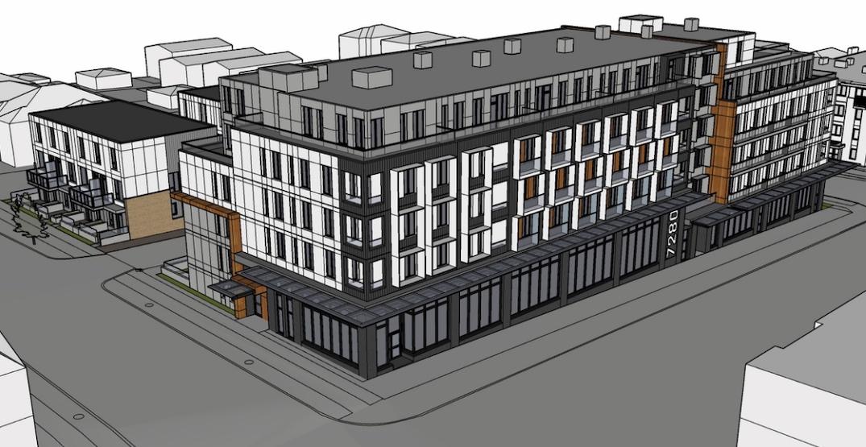 107 rental homes proposed for former Safeway on Fraser Street in Vancouver