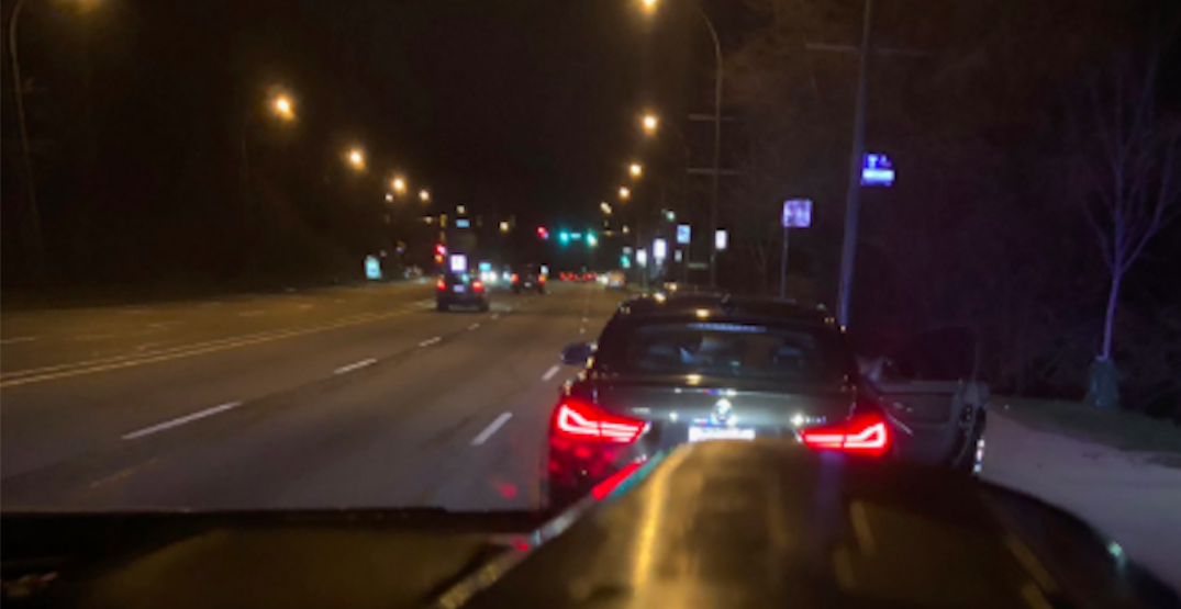 Driver in south Vancouver caught doing 134km/h in a 50km/h zone