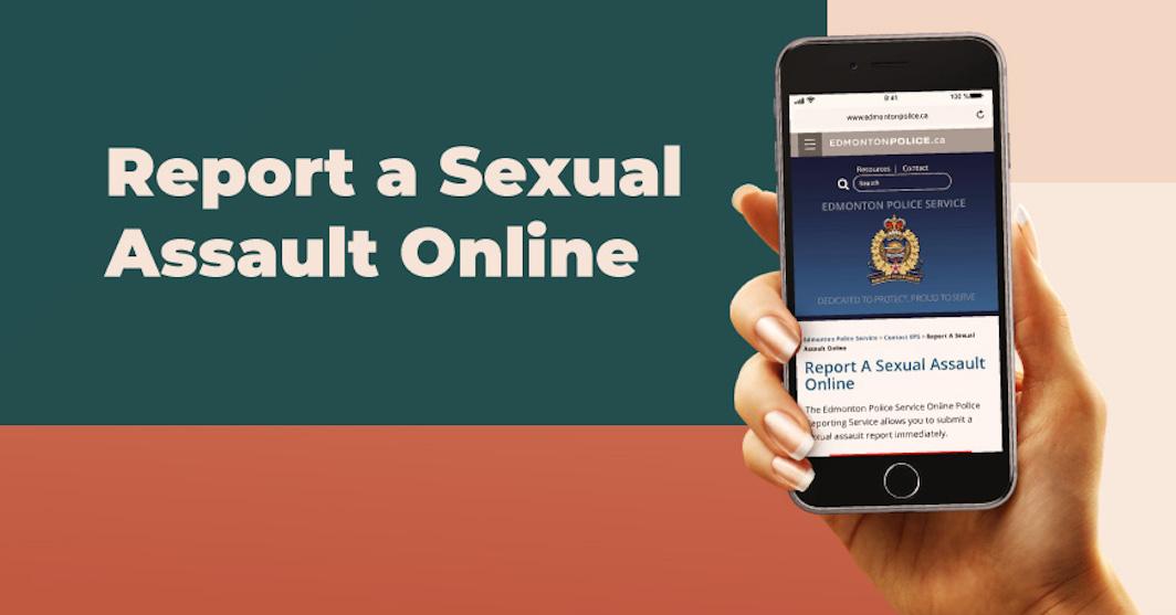 Edmonton police launch online tool to report sexual assault