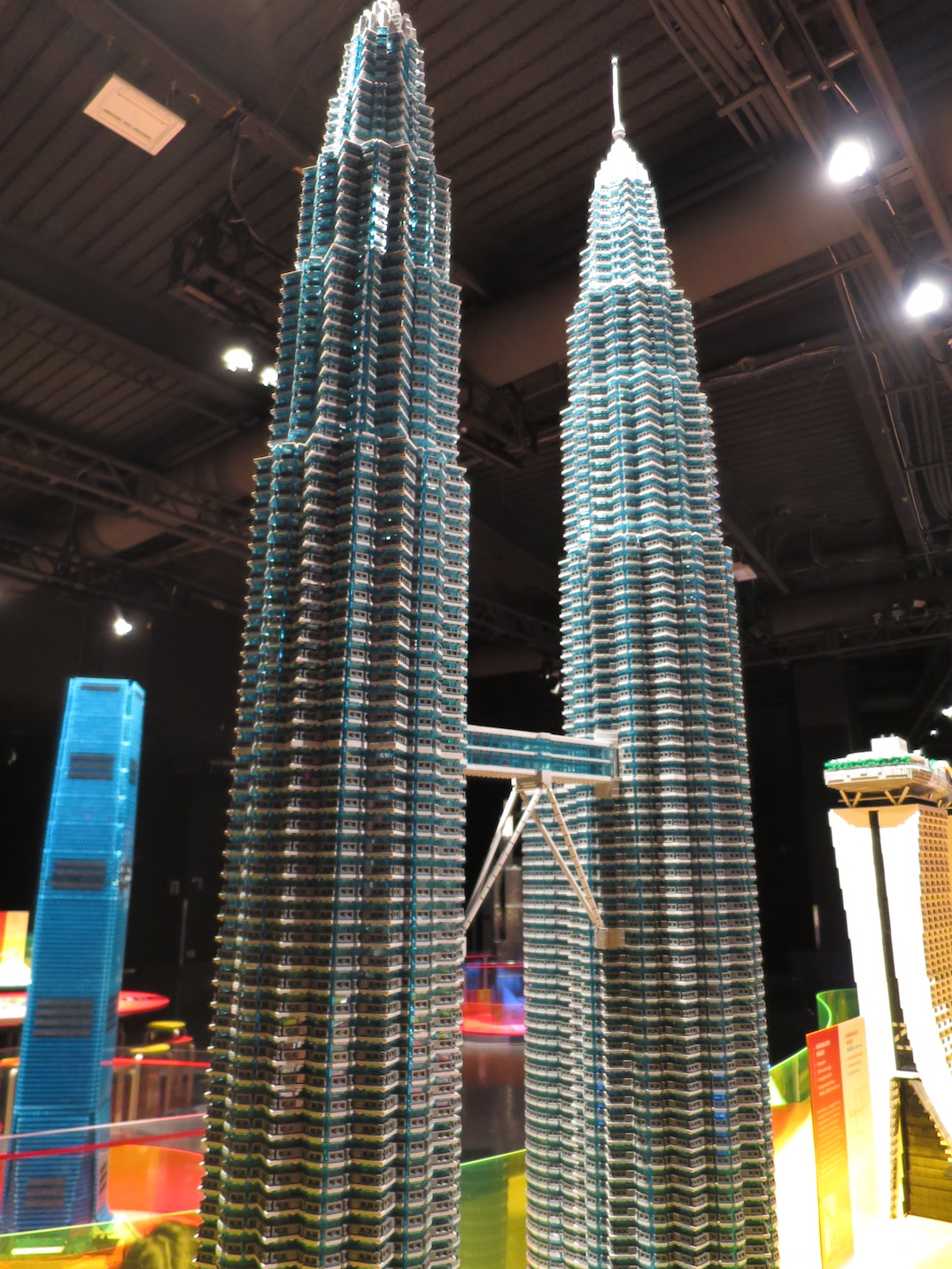 science world towers of tomorrow lego