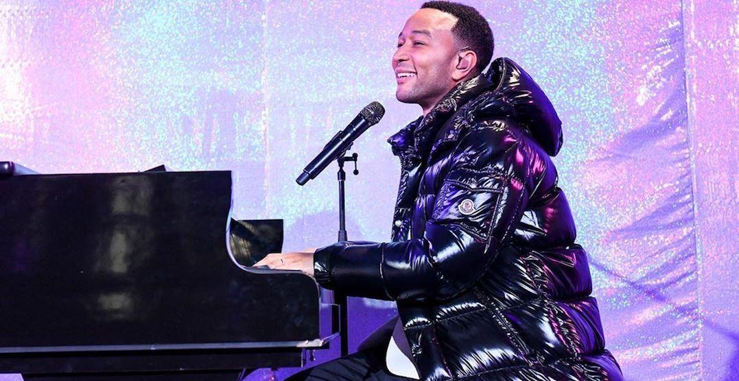 John Legend is performing in Toronto on September 2