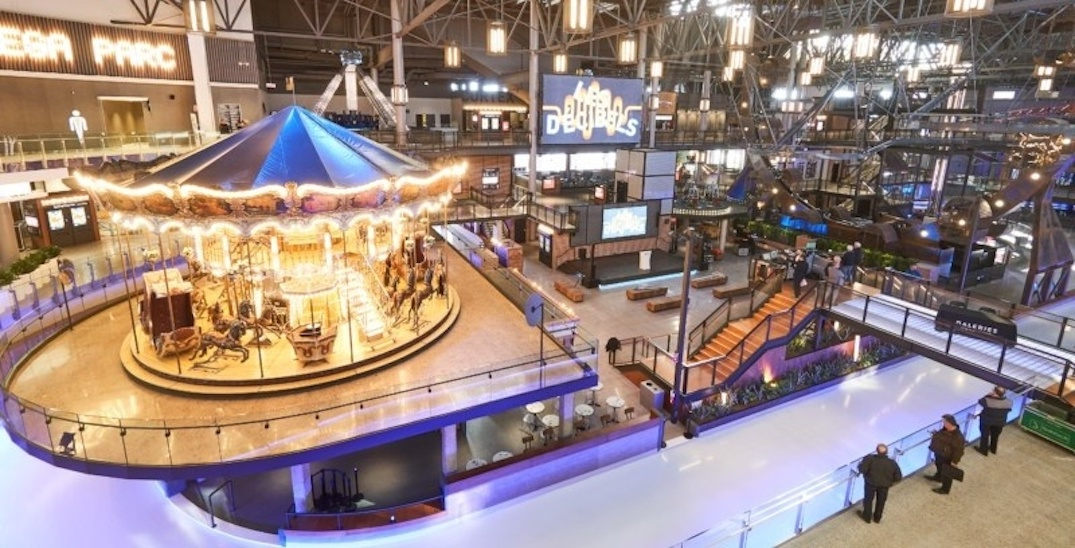 Quebec City's giant indoor amusement park should be on your radar (PHOTOS)