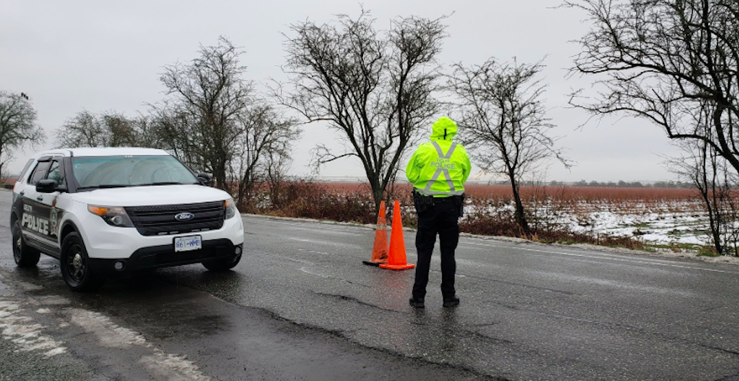 Delta Police pulled 6 impaired drivers off the road in a single day this week