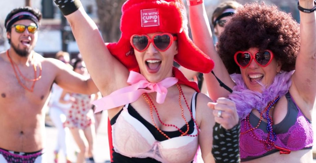 Run the streets of Seattle in nothing but your undies this weekend
