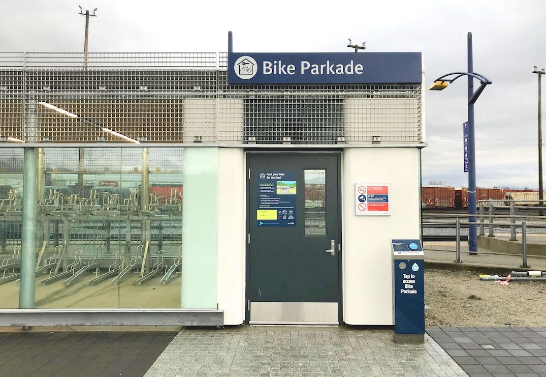 translink port coquitlam bike parkade