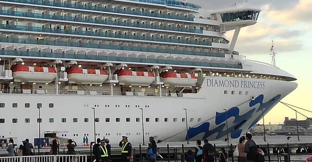Canada is not evacuating citizens aboard Diamond Princess cruise ship