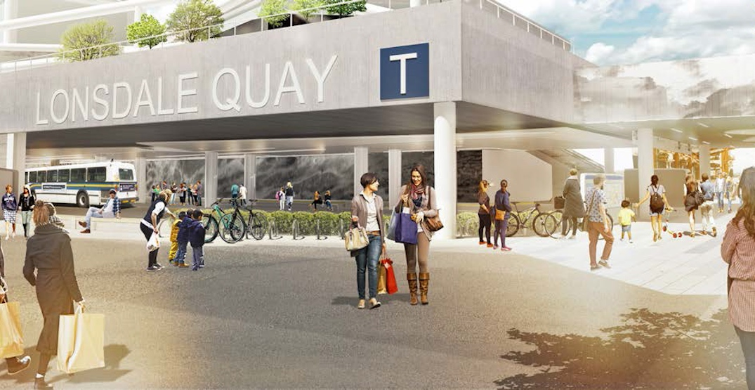 TransLink's $14.7-million rebuild of Lonsdale Quay Exchange nearing completion