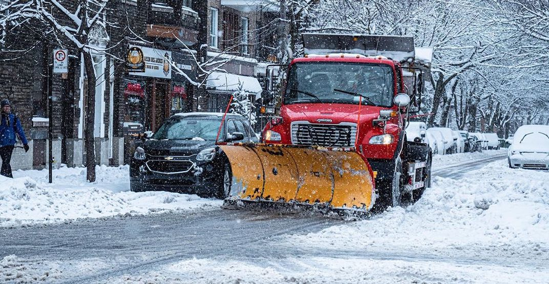 The City of Montreal expects snow removal to be completed by Friday