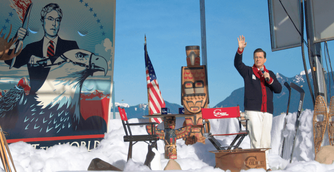 How Stephen Colbert almost became Vancouver's mayor for a day during the 2010 Winter Olympics