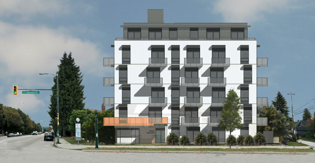 35 new rental homes proposed for West 4th Avenue in Kitsilano