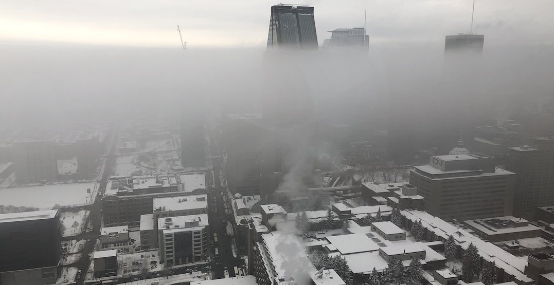 Environment Canada issues Smog Warning for Montreal