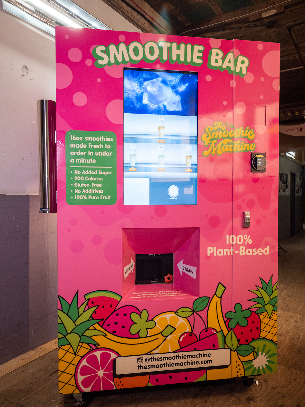 The Smoothie Machine