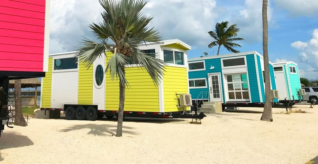 An adorable tiny house village just opened in the Florida Keys