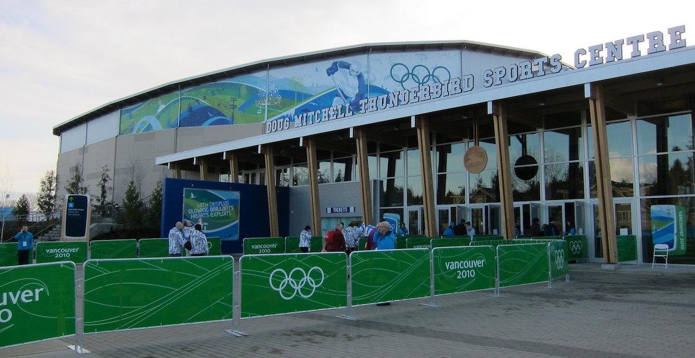 ubc doug mitchell thunderbird sports centre olympics