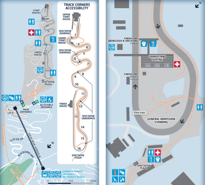 whistler sliding centre olympics