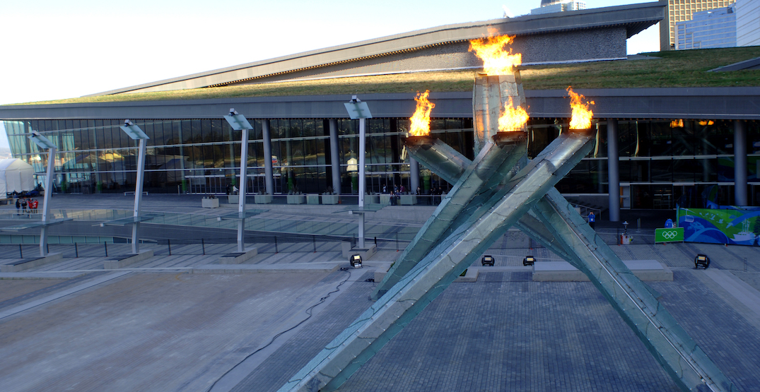 vancouver convention centre olympic cauldron