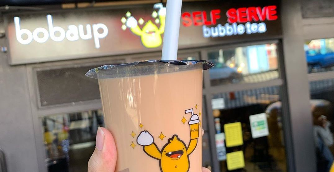 You can get self-serve bubble tea at Seattle's Boba Up