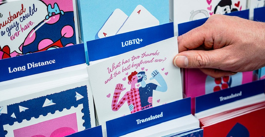 New card collection aims to increase inclusivity this Valentine's Day