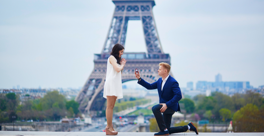 Ryanair reveals its list of the 10 most popular proposal spots in Europe