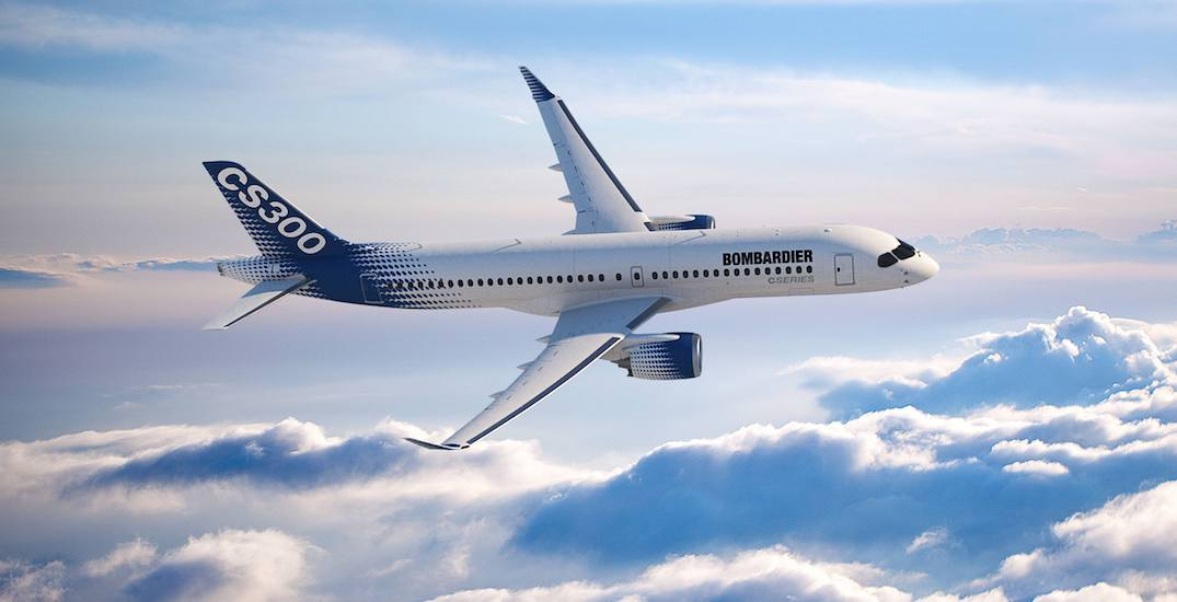 Bombardier is getting out of the commercial aerospace business