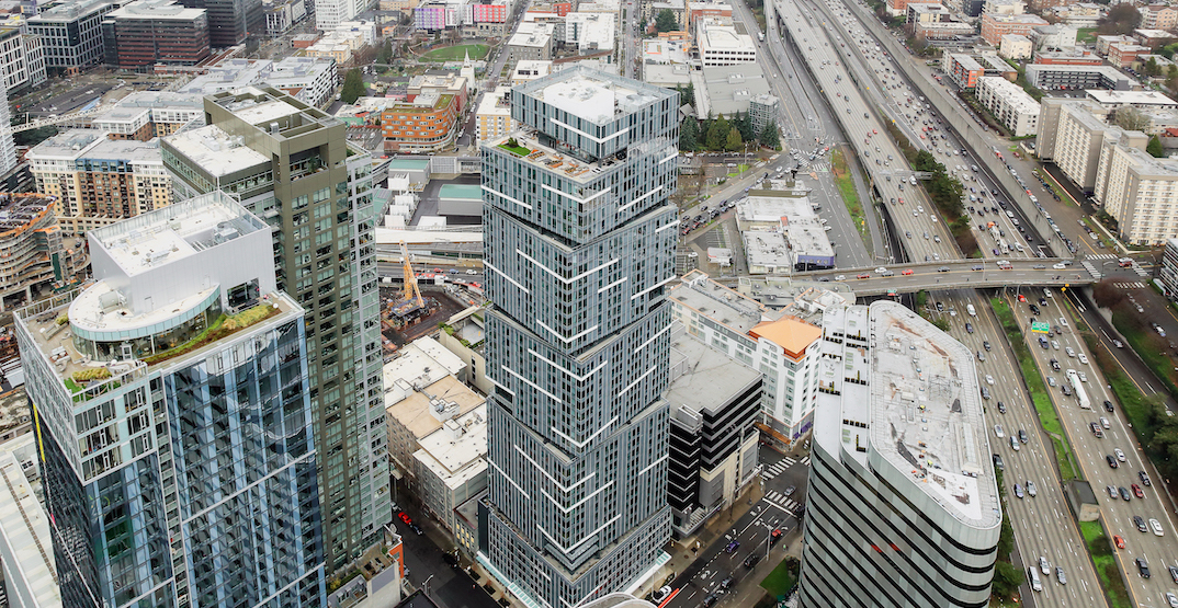Seattle's NEXUS tower has welcomed the first of 600 residents