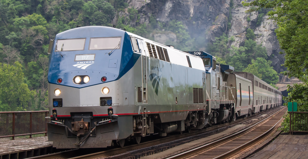 Amtrak is offering a buy one get one free sale for Valentine's Day