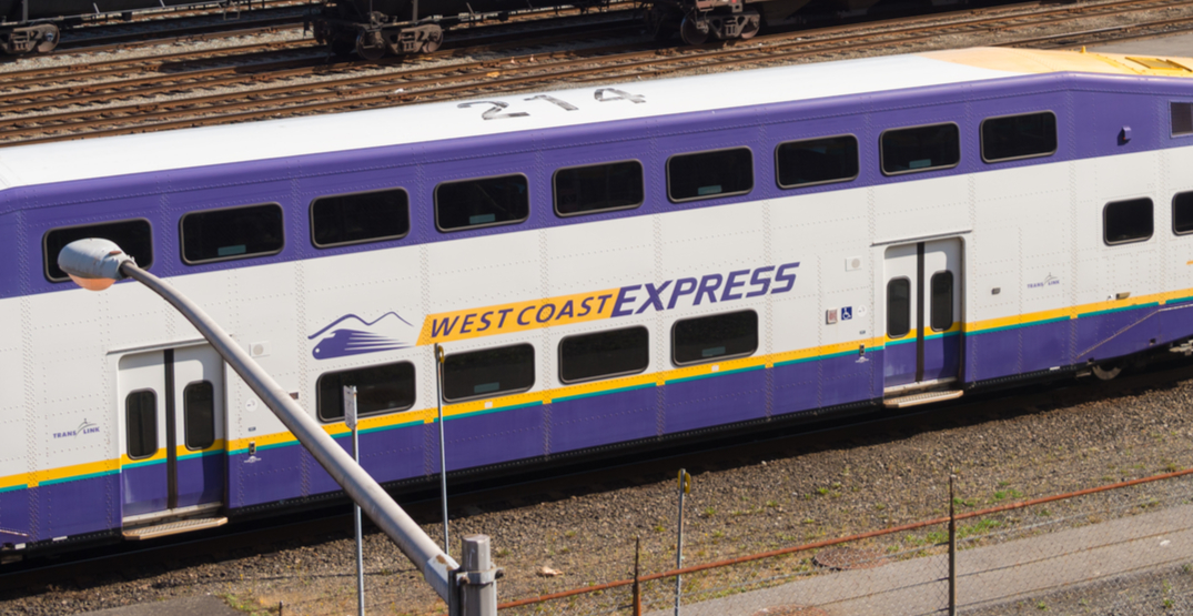 Anti-pipeline demonstration cancels West Coast Express service