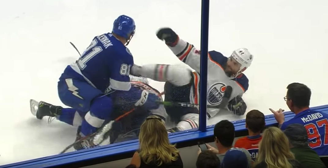 Oilers' Zack Kassian suspended 7 games by NHL for kicking a guy