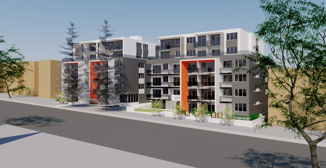 93 rental homes proposed for Oak Street in South Vancouver