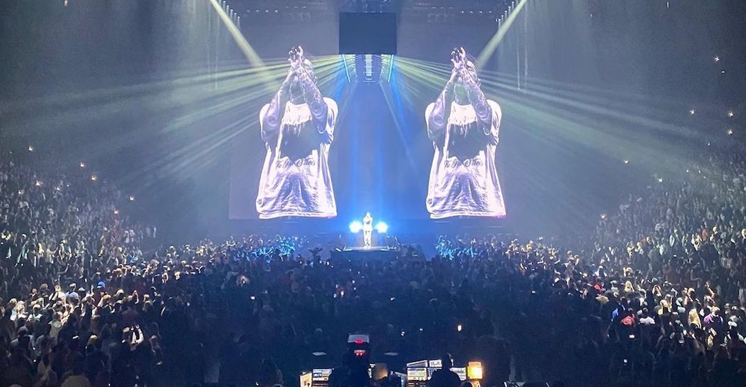 18 shots from Post Malone's show at the Bell Centre last night (PHOTOS)