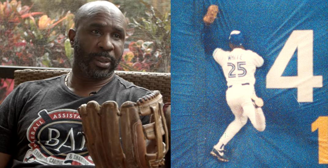 Blue Jays legend Devon White is auctioning off his World Series glove