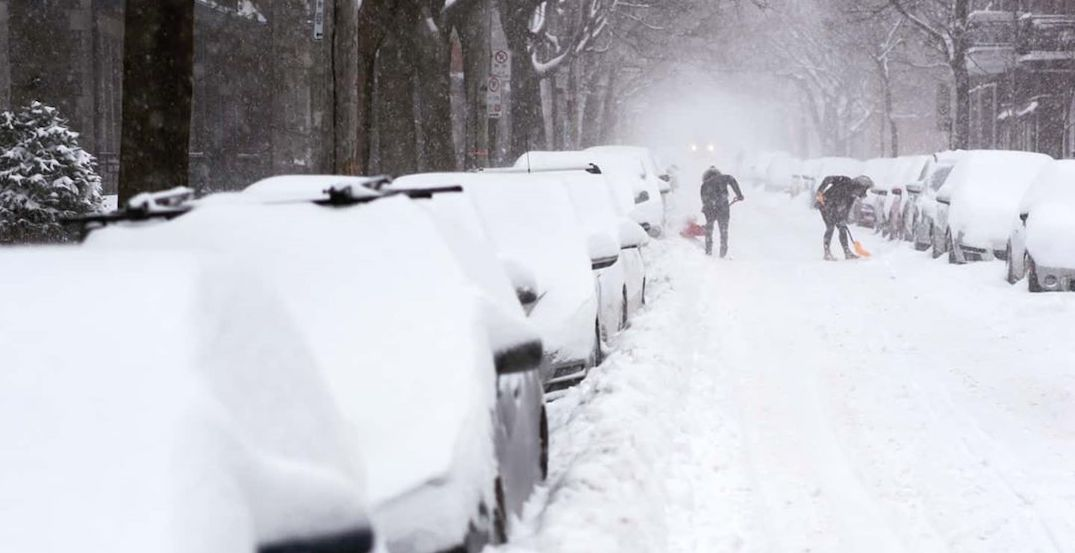 Montreal has removed almost all of the past 2 weeks worth of snow