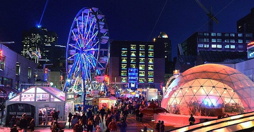 All the free things you should check out at Montreal en Lumière this year