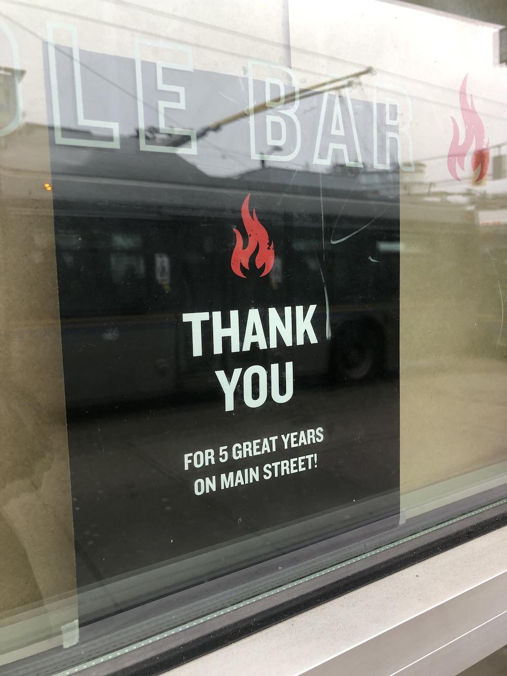 Noodlebox Main Street closed