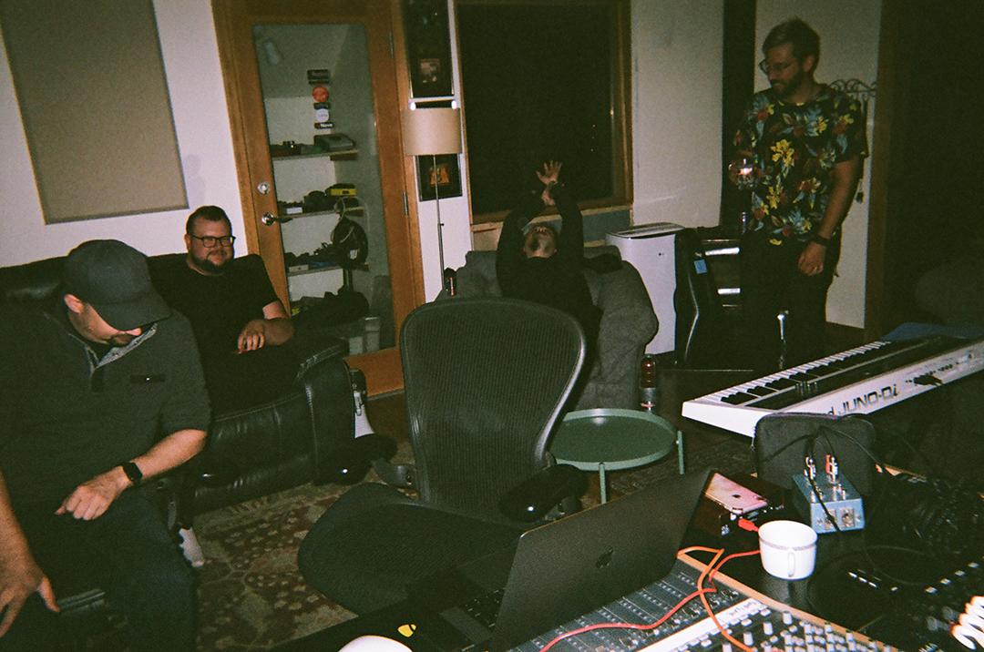 Ben Searles, Adam Caddell, Tal Levy (of Echos), David Pramik, Seeking Blue Records