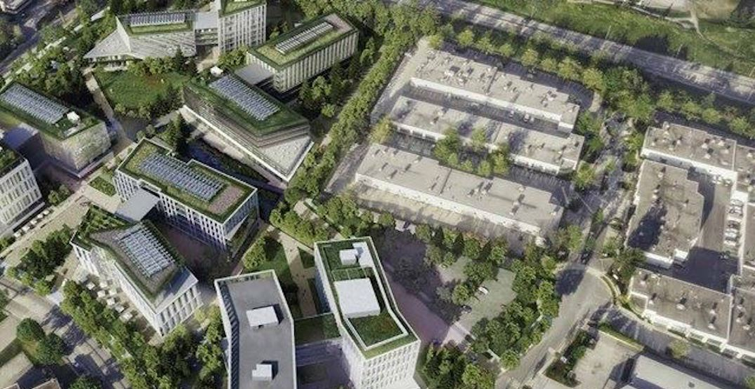 New office campus proposed next to Production Way-University Station