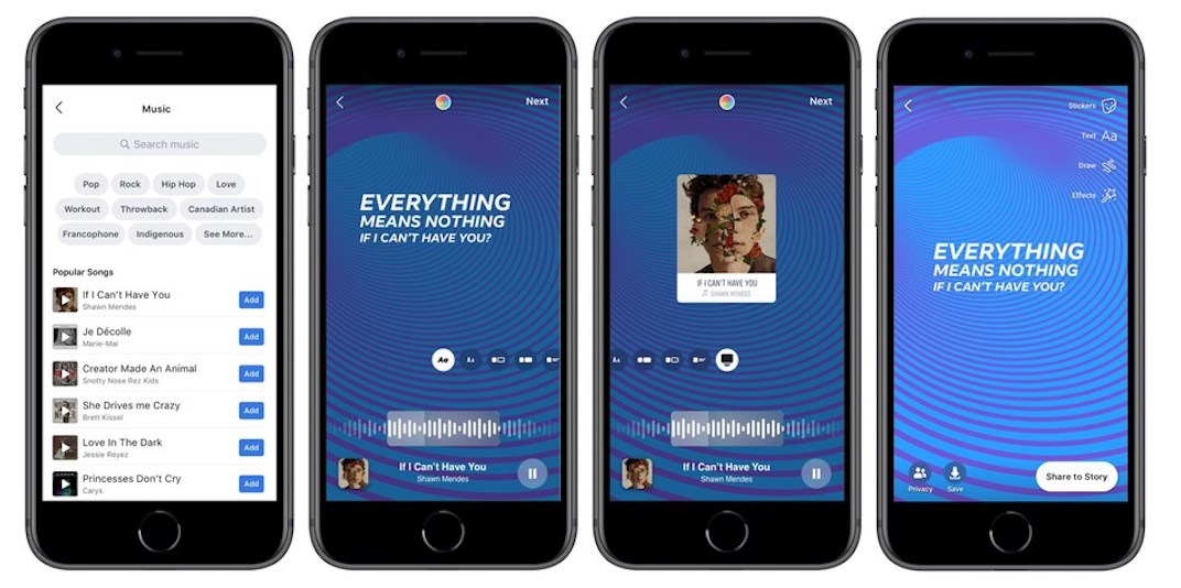 Instagram music is now finally available in Canada