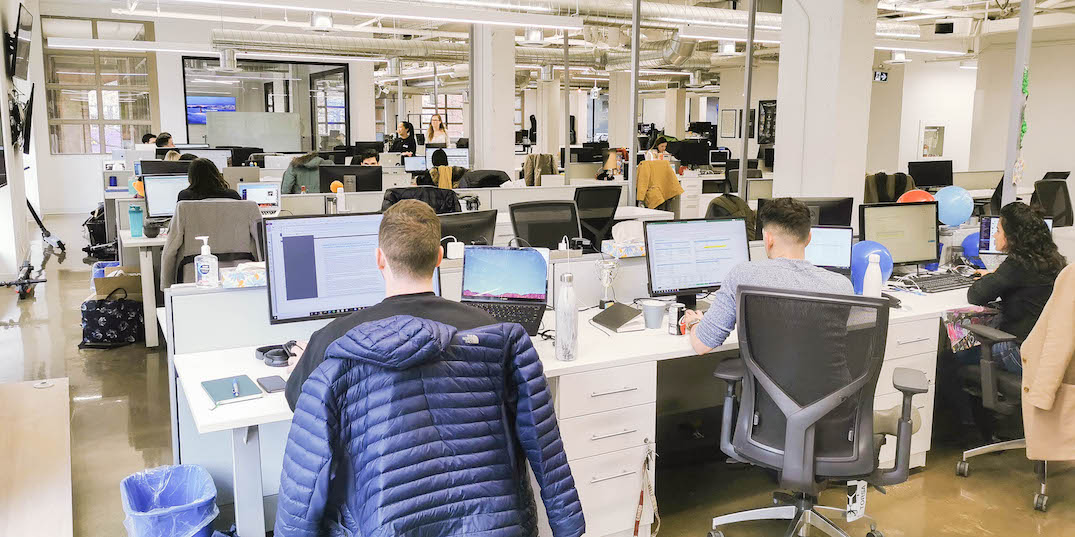 Startup Spaces: A look inside Drop's office in Toronto's St. Lawrence neighbourhood (VIDEO)