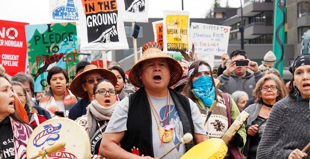 Anti-pipeline demonstration planned at major Vancouver intersection today