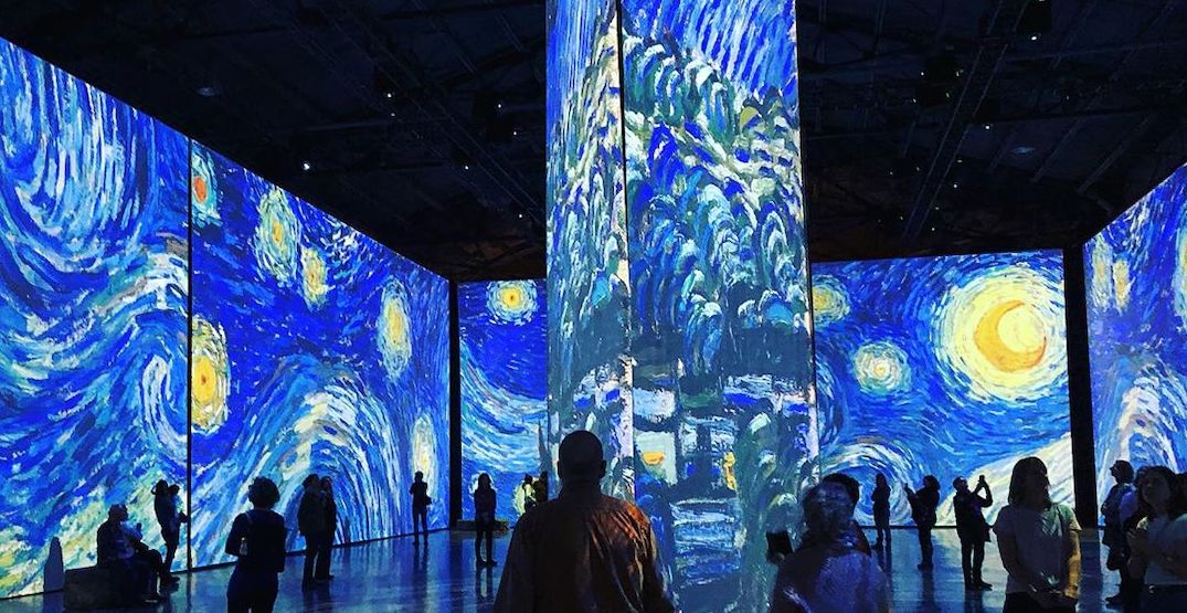 Montreal's mesmerizing Van Gogh exhibition extends throughout the winter