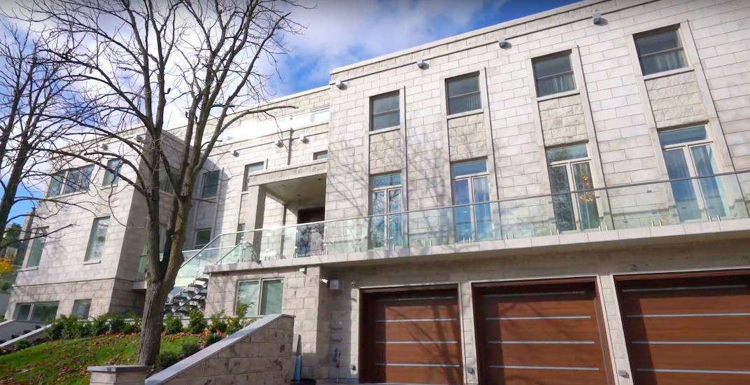 This $27.8 million Montreal mansion just hit the real estate market (VIDEO)