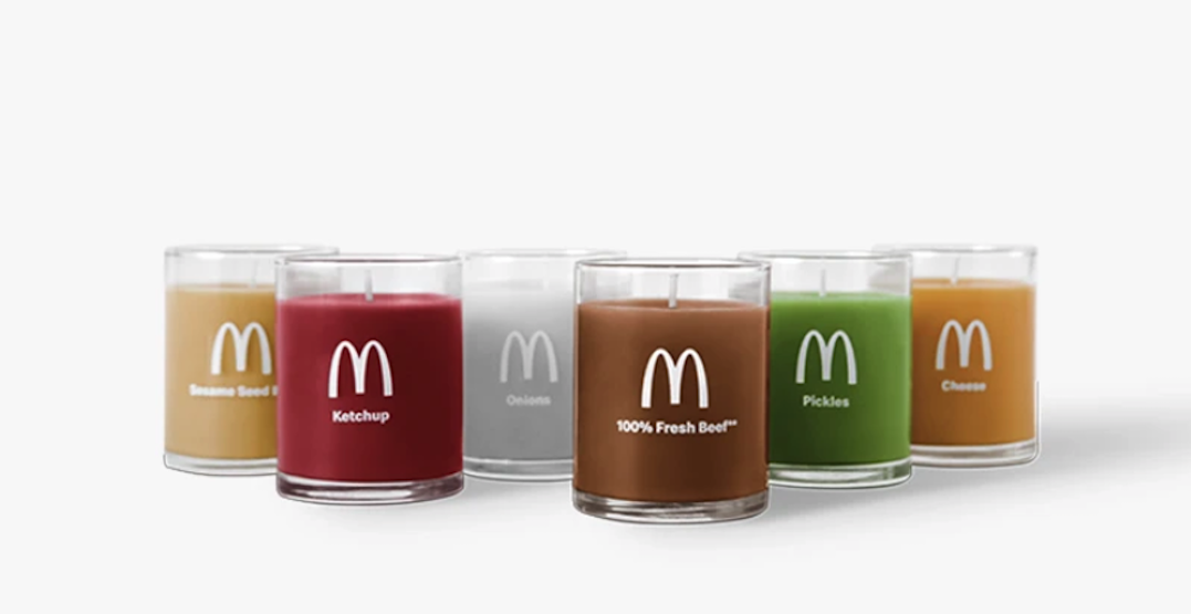 McDonald's candles exist, but Canada is safe from the scents... for now