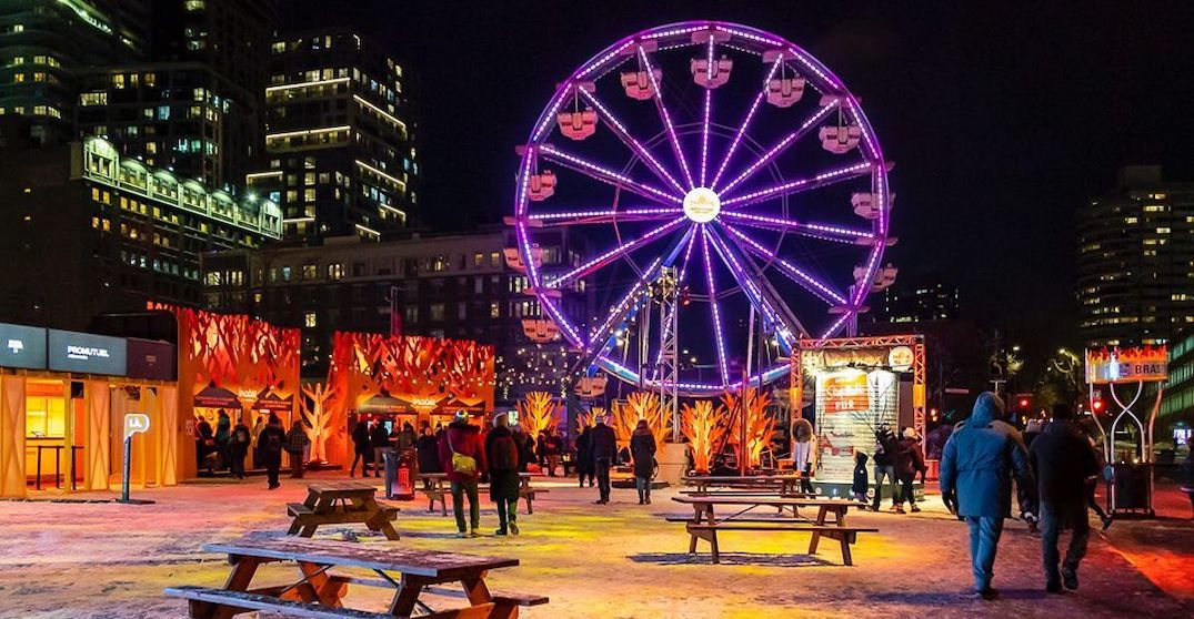 This is what the first weekend of Montréal en Lumière looked like (PHOTOS)