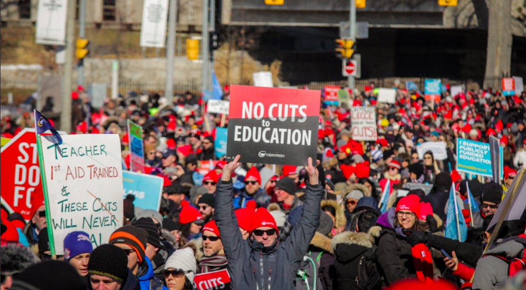 Teachers union demanding Ford government return to the bargaining table