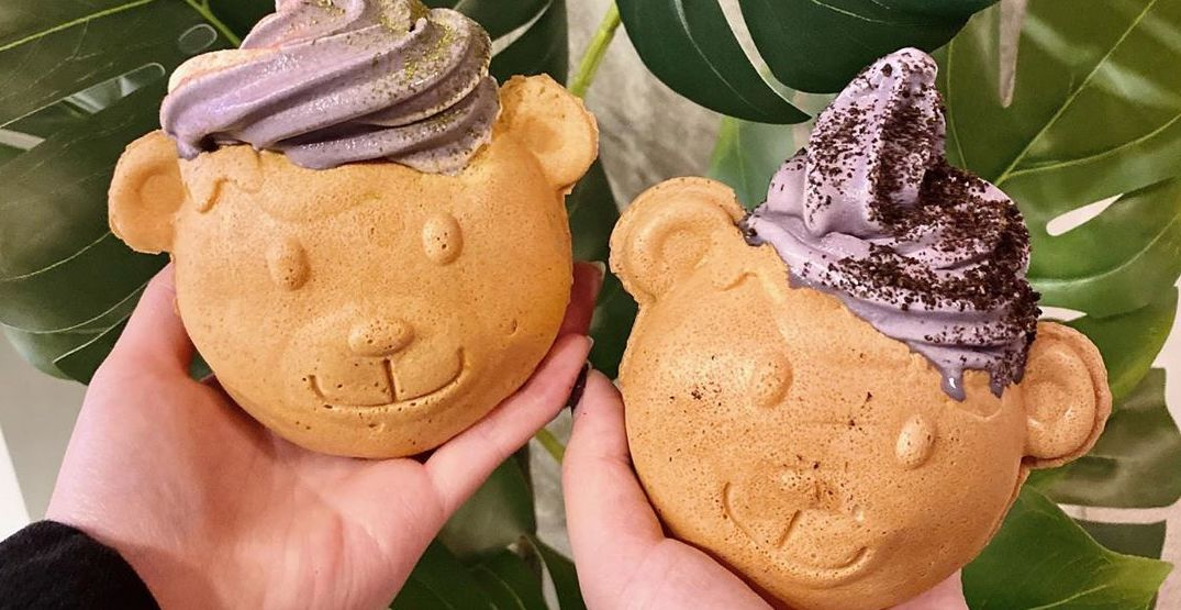 Drip Tea in Seattle offers up the cutest Bearyaki soft serve