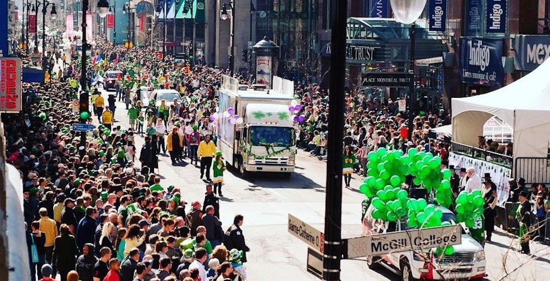 The date for Montreal's St. Patrick's Day Parade has been revealed